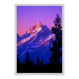 Tetons magnífico - Wyoming Posters