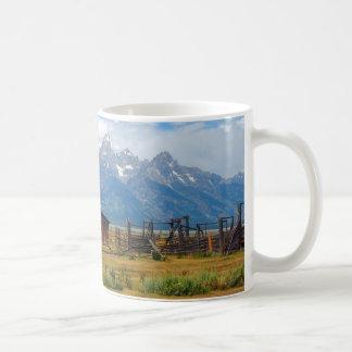 Tetons National Park - Barn Classic White Coffee Mug