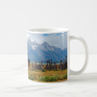 Tetons National Park - Barn Coffee Mug