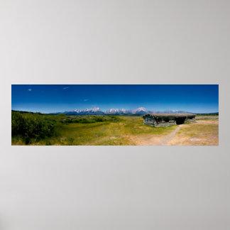 Tetons Panorama Posters