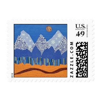 Tetons Stamp