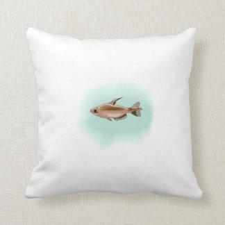 Tetra Fish Throw Pillow