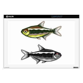 Tetra pescados de neón del acuario portátil 43,2cm skins