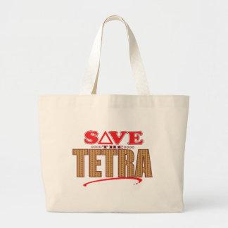Tetra Save Large Tote Bag