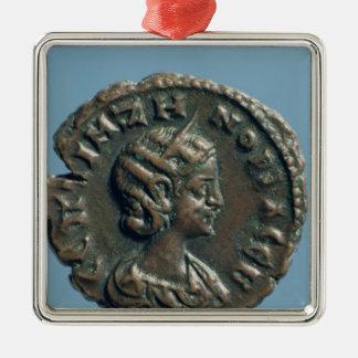 Tetrachm  of Zenobia, Queen of Palmyra Metal Ornament
