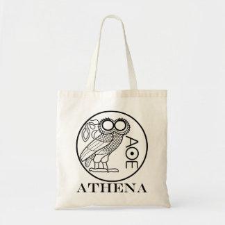 Tetradrachm del búho de Athena (fuente de los Bolsa Tela Barata