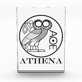 Tetradrachm del búho de Athena (fuente de los