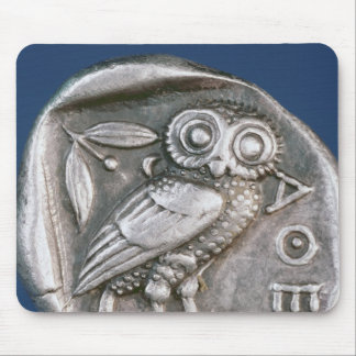Tetradrachma ateniense alfombrilla de raton