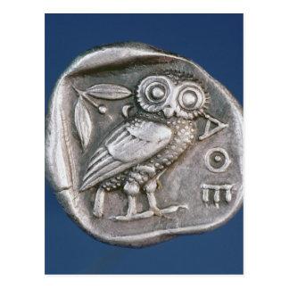 Tetradrachma ateniense postal