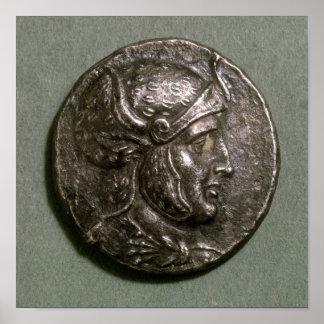 Tetradrachma of Seleucus I  King of Syria Poster