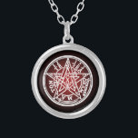 """TETRAGRAMMATON 01 SILVER PLATED NECKLACE<br><div class=""""desc"""">Is used in the ceremony of magic circle (Japanese explanation) demoniac recall the magic circle (magical circle) which</div>"""