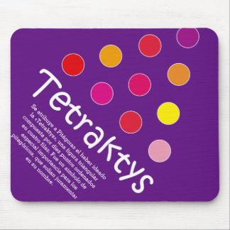 Tetraktys Mouse Pad