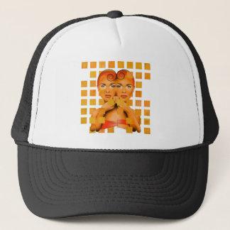 Tetrathos V1 - heart head Trucker Hat