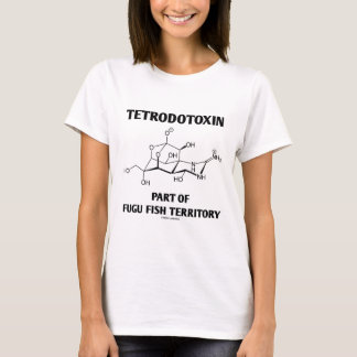 Tetrodotoxin Part Of Fugu Fish Territory T-Shirt