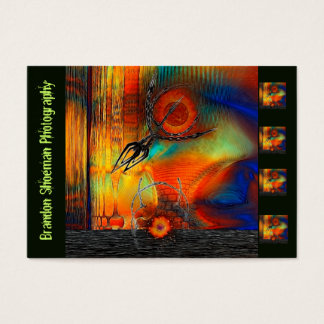 Tetrus Abstract Mixed Media Photography Customs Business Card