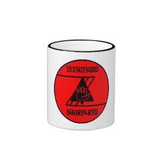 Tetsutsuru Shorin-Ryu School Patch Ringer Mug