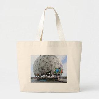 Teufelsberg, BERLIN Large Tote Bag