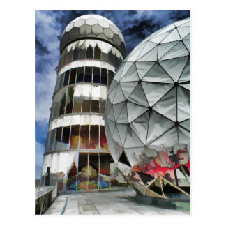 Teufelsberg, BERLIN Postcard