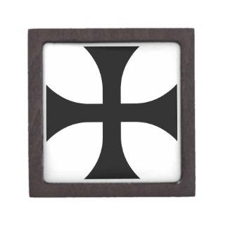 Teutonic Cross #2 Keepsake Box