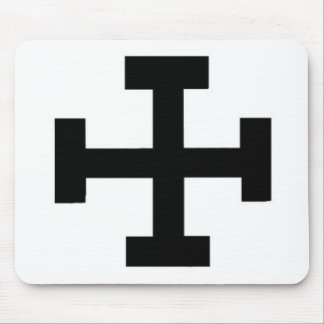 Teutonic Cross Mouse Pad