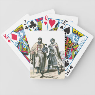 Teutonic Knights Bicycle Playing Cards