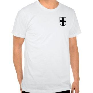 Teutonic Knights Big Shield Shirt shirt