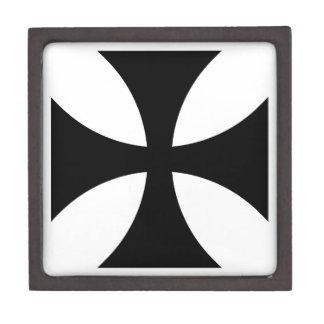 Teutonic Knights Cross #4 Jewelry Box