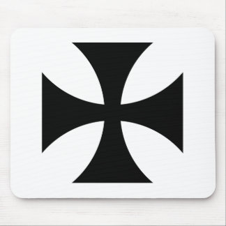 Teutonic Knights Cross #4 Mouse Pad