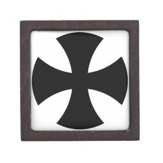 Teutonic Knights Cross Jewelry Box