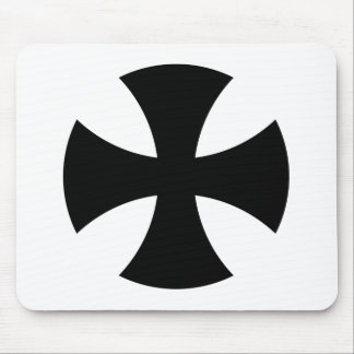 Teutonic Knights Cross Mouse Pad