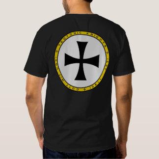 Teutonic Knights Cross Round Seal Shirt