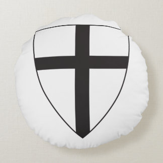 Teutonic Knights Round Pillow