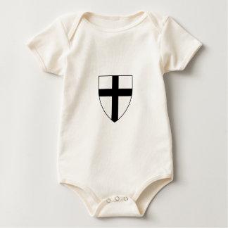 Teutonic Knights Shield Baby Bodysuit
