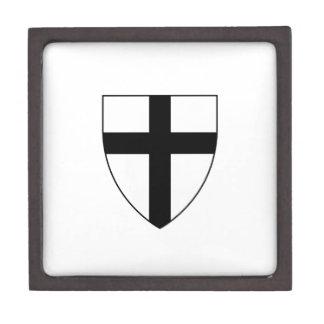 Teutonic Knights Shield Keepsake Box