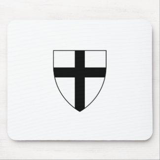 Teutonic Knights Shield Mouse Pad