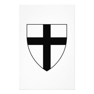 Teutonic Knights Shield Stationery