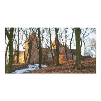 Teutonic Order castle Neidenburg - Photocard Card