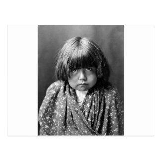 Tewa Indian Girl, 1905 Postcards