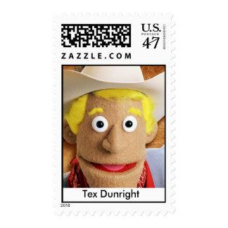 Tex Dunright Stamp, 43 cent stamp