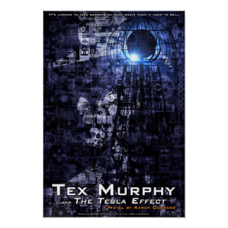 """Tex Murphy and The Tesla Effect Poster [13""""x19""""]"""