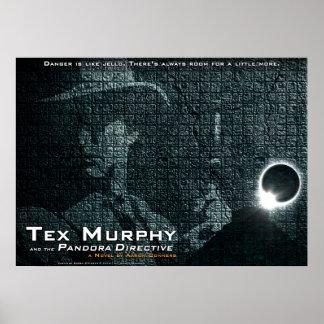 "Tex Murphy: El poster directivo de Pandora [28"" x2 Póster"