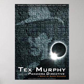"""Tex Murphy: The Pandora Directive Poster [20""""x28""""]"""