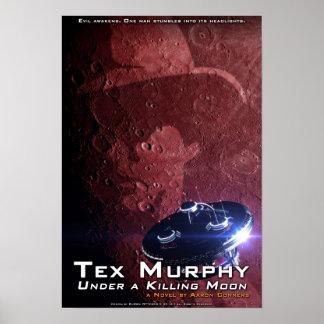 "Tex Murphy: Under a Killing Moon Poster [13""x19""]"