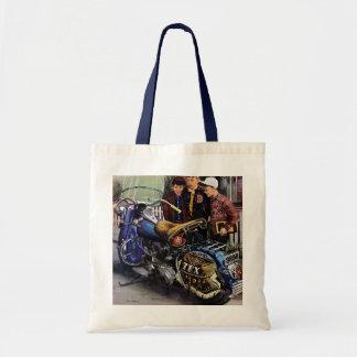 Tex s Motorcycle Tote Bag