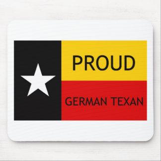 Texan alemán - Alemán-Americano Alfombrillas De Ratones