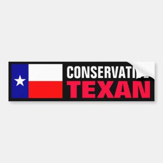 Texan antiabortista pegatina para auto