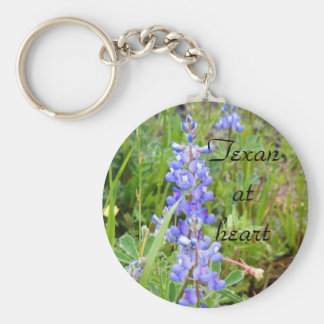 Texan at Heart keychain