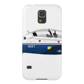 Texan de Beechcraft T-6A del vendedor ambulante II Funda Para Galaxy S5