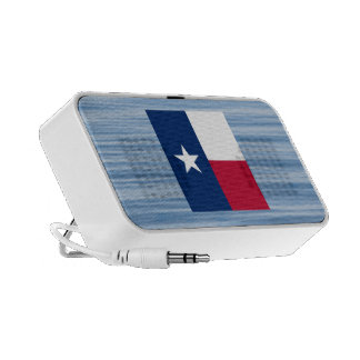 Texan Flag Floating on water Travelling Speakers
