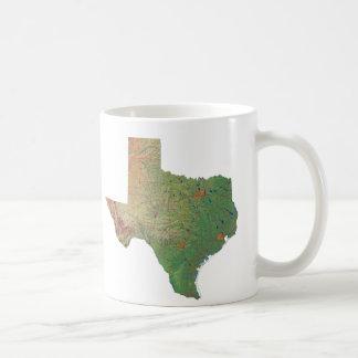 Texan Flag + Map Mug
